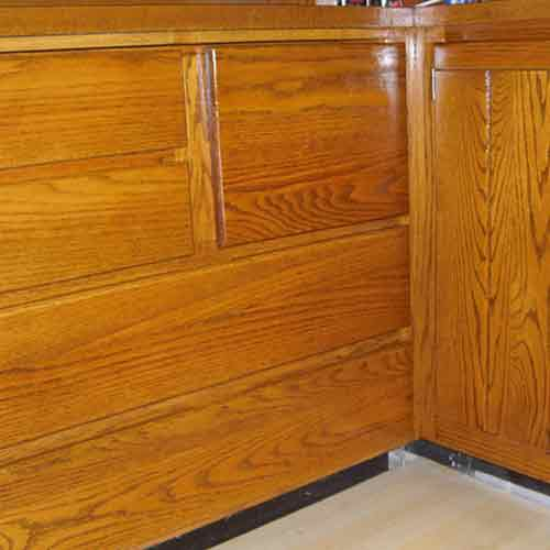 Maple Valley Cabinet Restoration After Pic